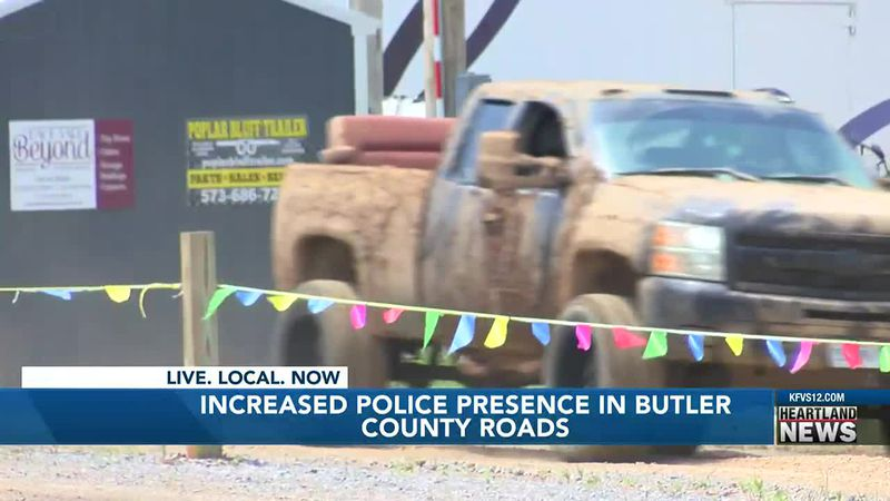 Police increase presence on Butler County roads
