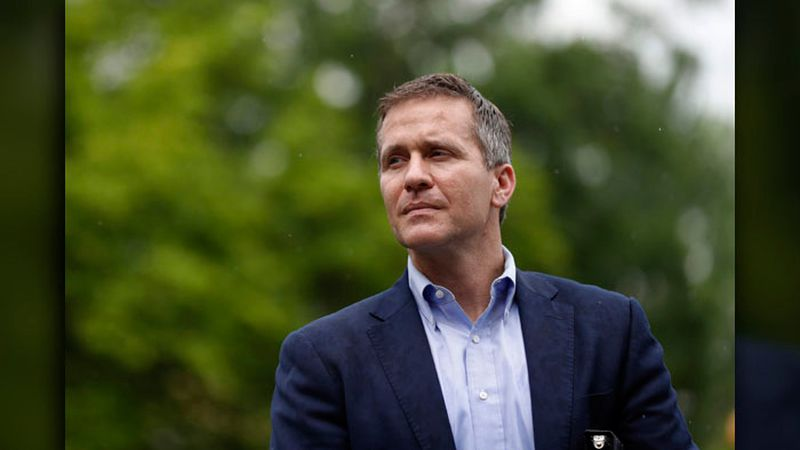 The former Missouri governor resigned in May. He was indicted Feb. 22 on a felony charge...