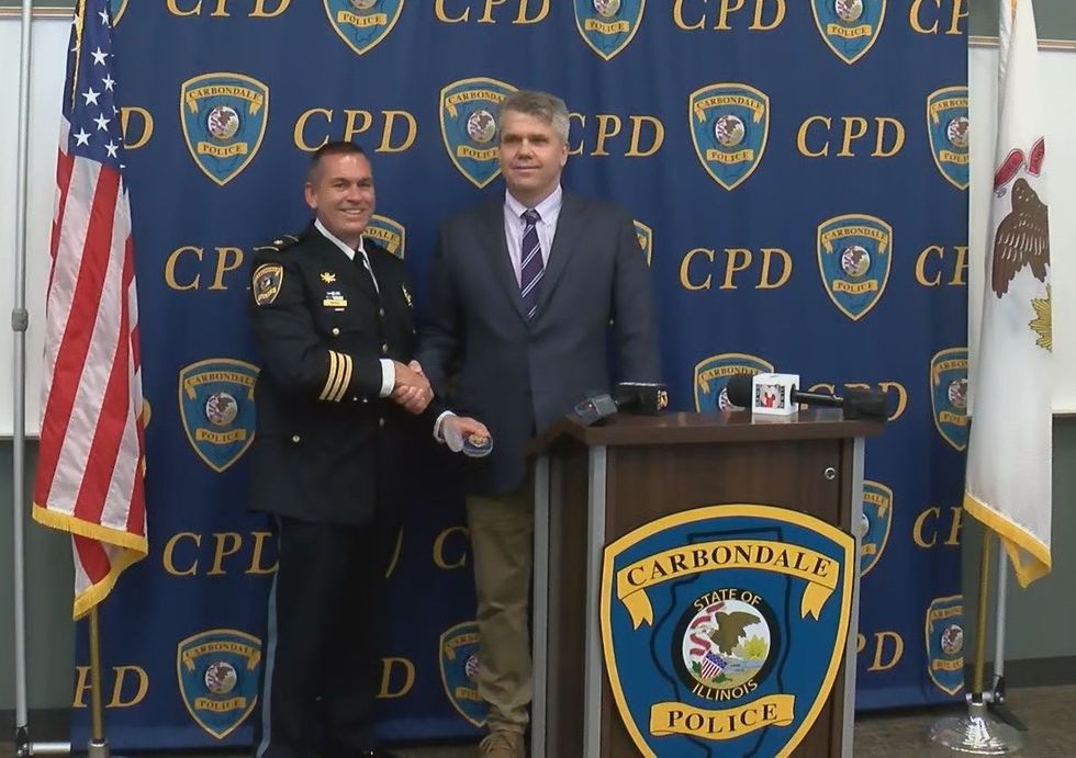 The City of Carbondale named Interim Police Chief Stan Reno as their new leader of the...