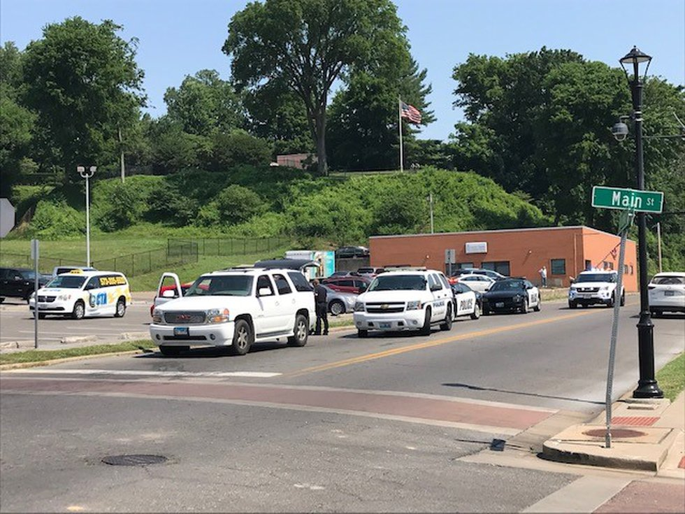 Police pulled over the suspect in downtown Cape Girardeau, Mo.