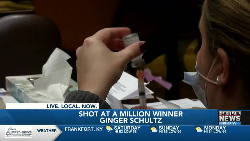 A woman in Louisville becomes the newest winner of Kentucky's shot at a million program.