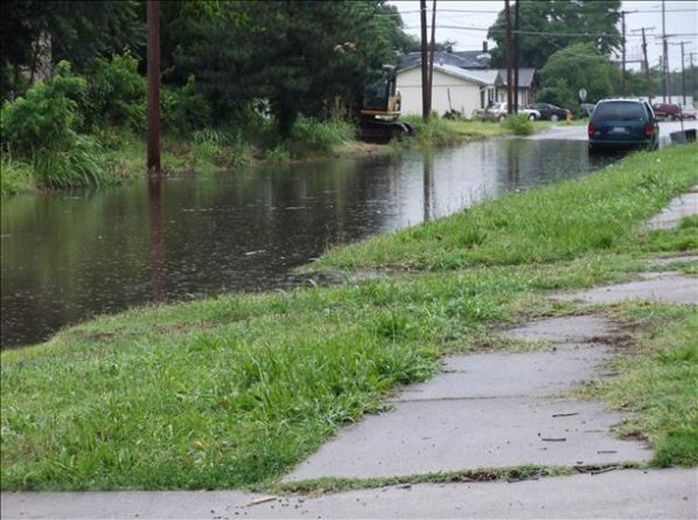 Flooding in Cairo, IL (Source: cNews)
