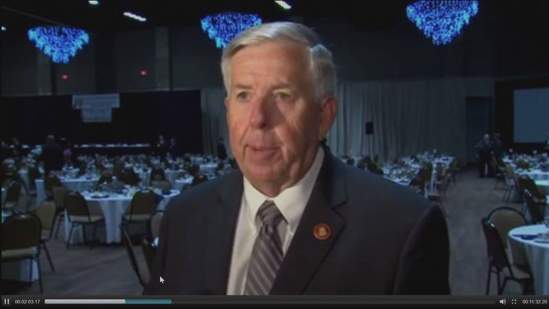 Now, Governor Mike Parson, a former sheriff, said nothing should stop state and federal...