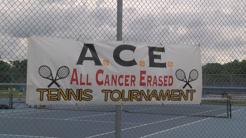 A tennis tournament is helping out with cancer research and raising awareness.