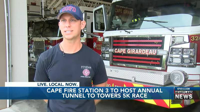 The annual Tunnel to Towers 5K will be held in Cape Girardeau on Saturday.