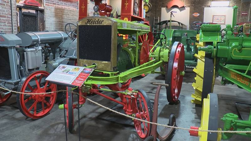 The American Tractor Museum in Perryville, Mo. currently has 65 tractors with more waiting to...