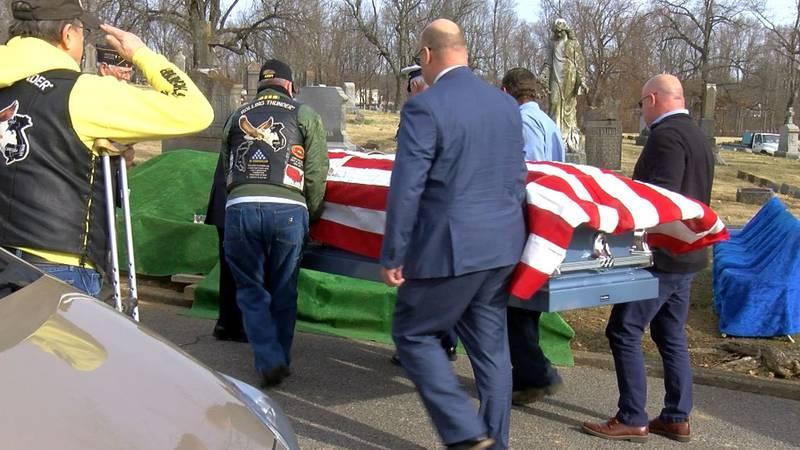 Veteran laid to rest
