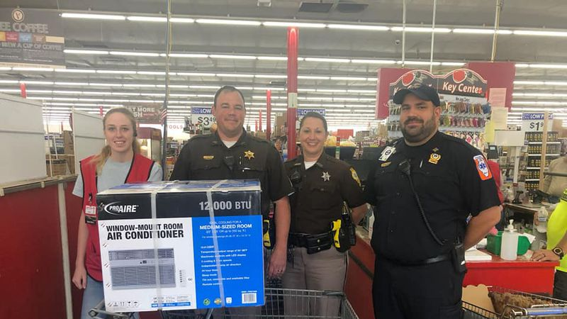 A weekend call about a baby in distress lead to an unexpected act of kindness in Jackson County.