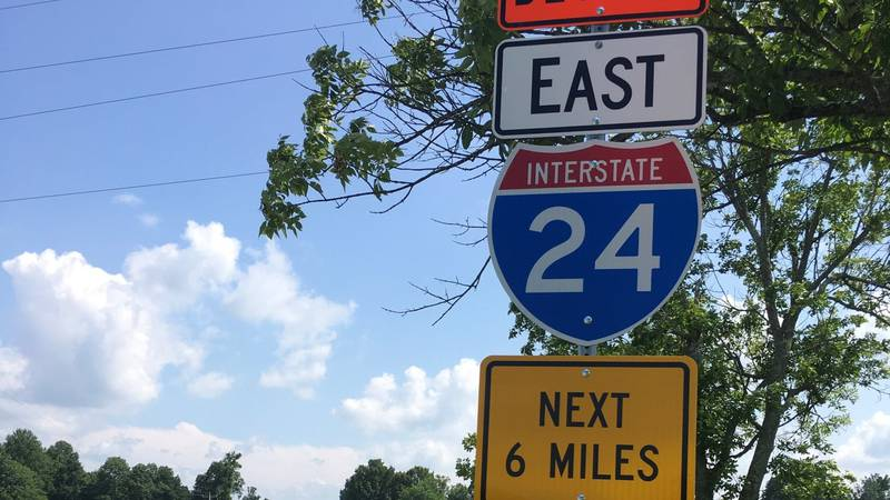 The new signs direct traffic along U.S. 68 and KY 139 between Exit 56 and Exit 65.
