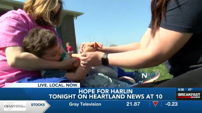 Hope for Harlin: Cape Girardeau Co. toddler battles rare condition