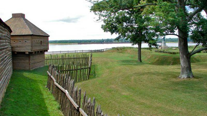 Fort Massac served as an outpost along the Ohio River for French, British and U.S. personnel.