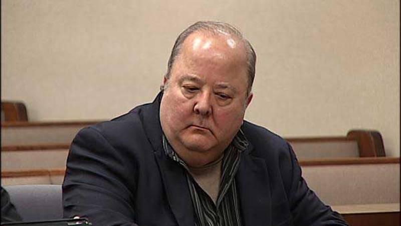James Schook during a September 2012 court appearance.