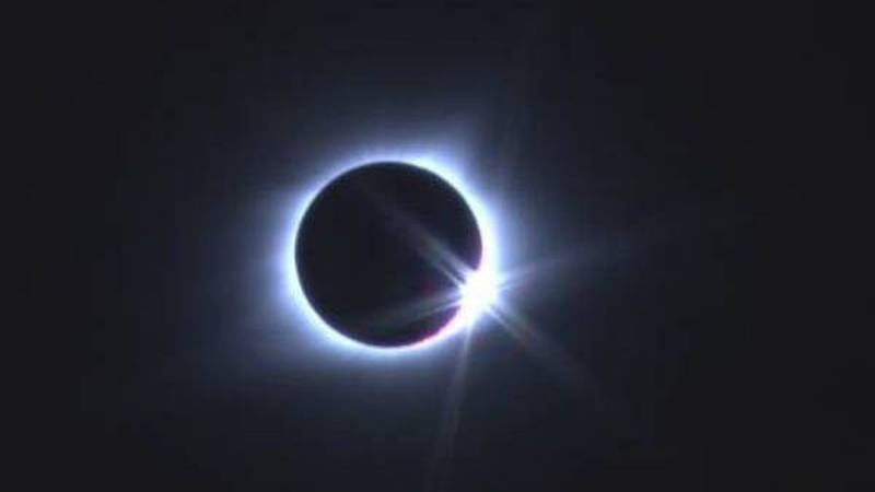 A view of the total solar eclipse in August 2017. (Source: KFVS)