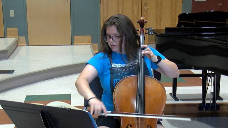 The classical music festival includes  professional musicians coming in from around the states