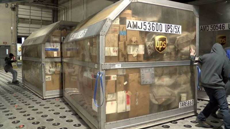 A UPS spokesperson said the company is now providing masks for workers during the coronavirus...