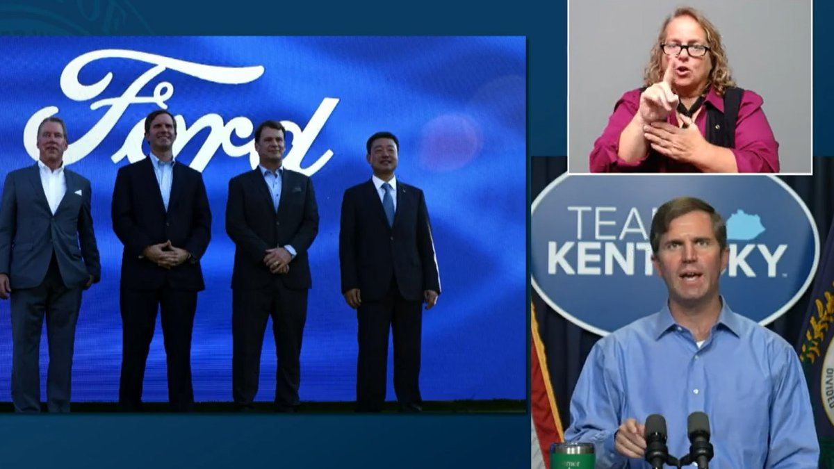 Governor Beshear announced more new jobs in the Commonwealth during his Team Kentucky update on...