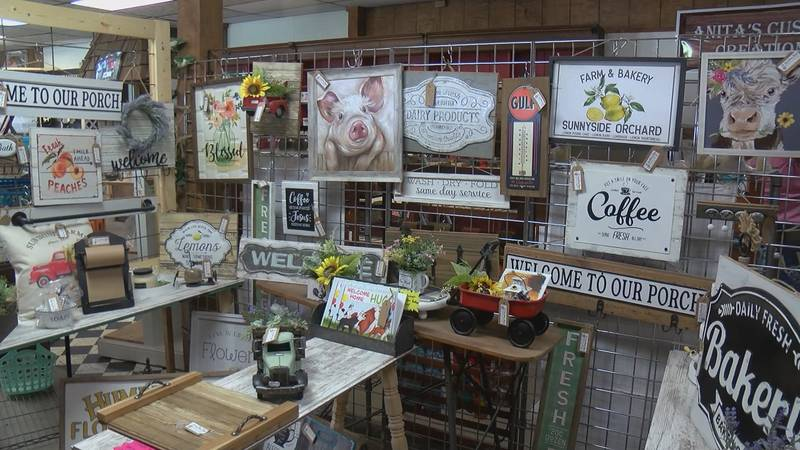 Dustin Johnson is the owner of Workshop 22 in Benton, Missouri. He said the craft sale will...
