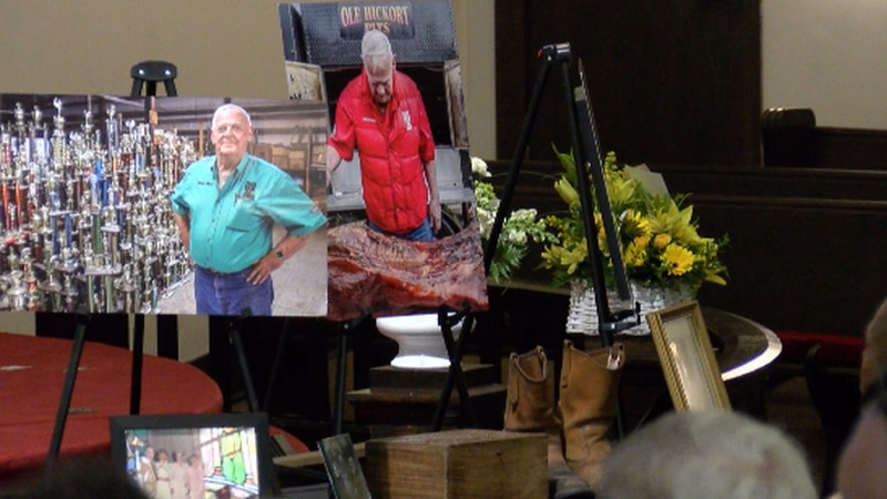 BBQ Legend Mike Mills was honored on Monday, June 28 at a visitation and memorial service in...