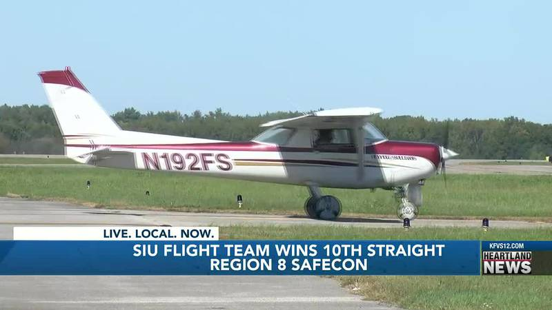 After winning 10 straight from a regional flying competition the SIU flight team brings in the...