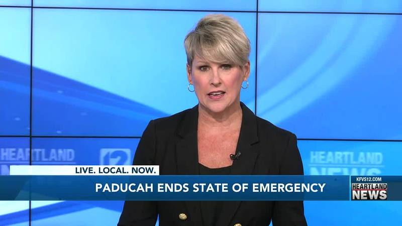 The state of emergency in Paducah has ended.