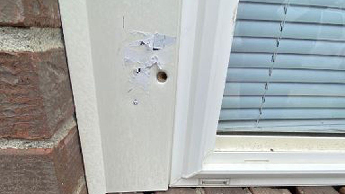 New photographs obtained by WAVE 3 News show bullet holes and other evidence of gunfire inside...