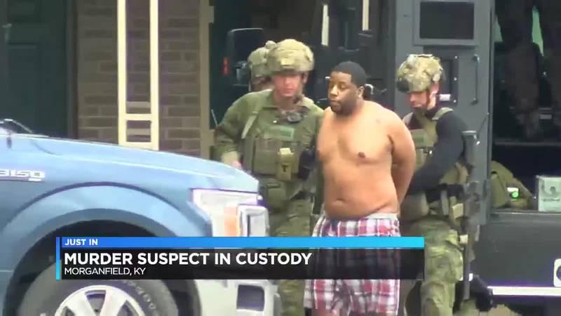 Ill. murder suspect arrested in Union Co.