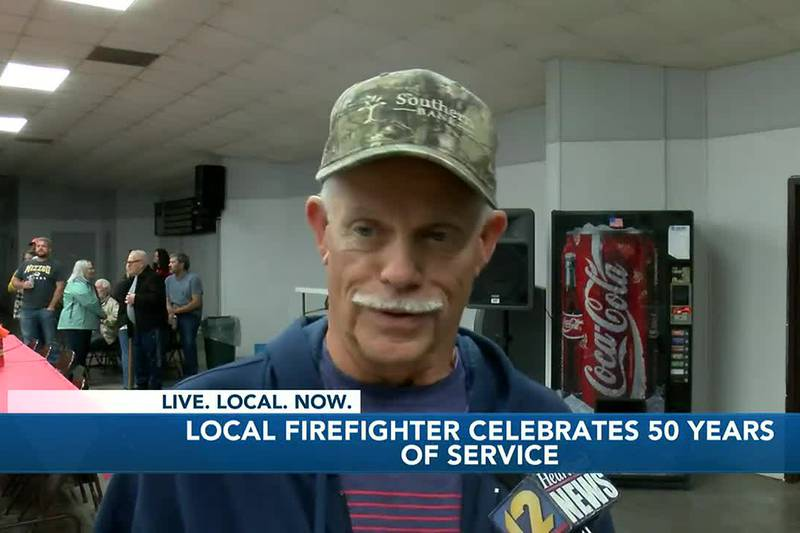 Chaffee is showing their appreciation for a local volunteer firefighter and his 50 years of...