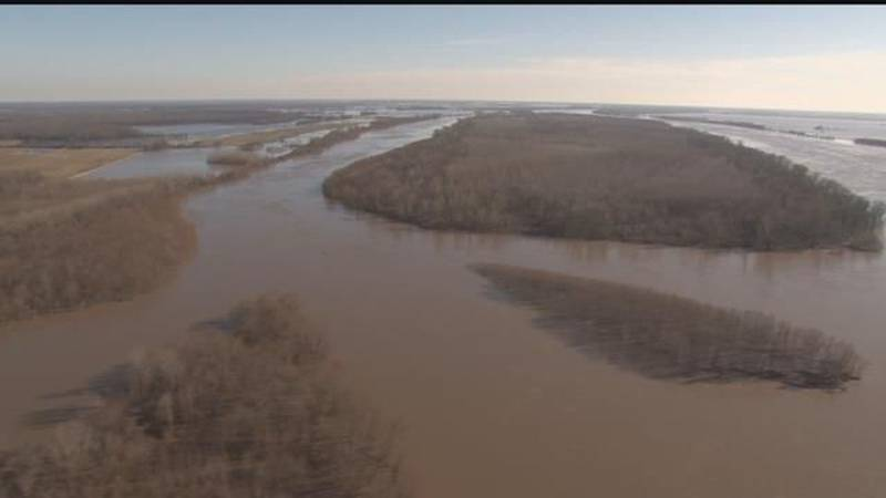 Flooding in Fayville, IL