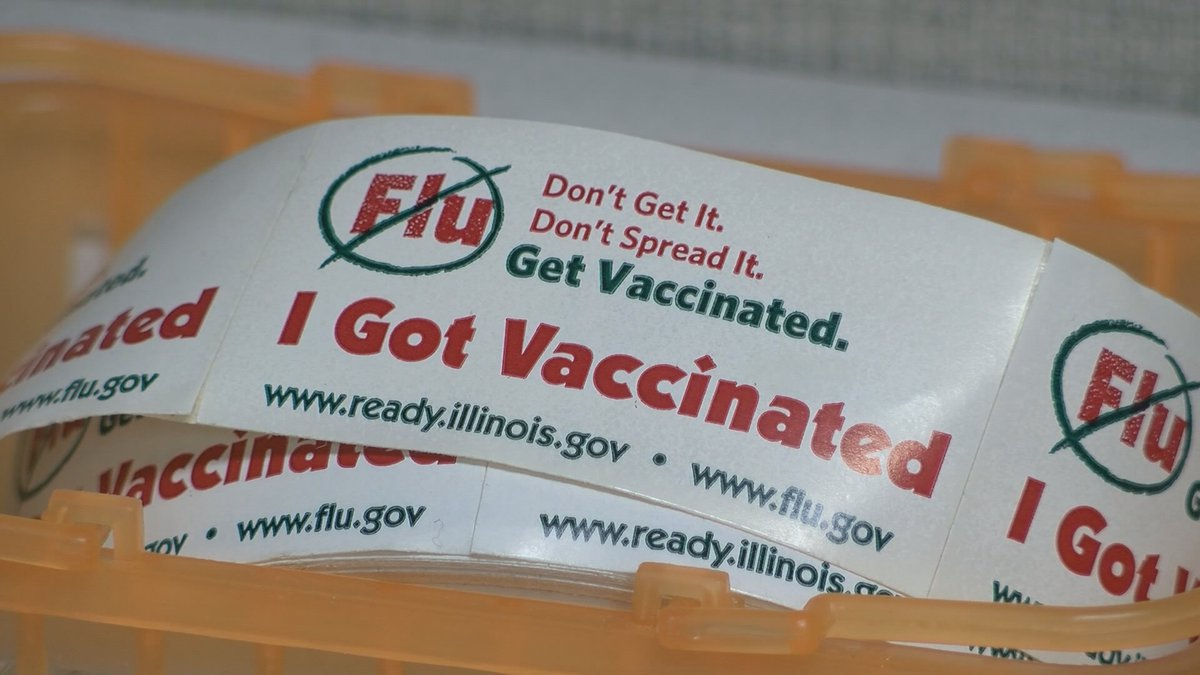 The CDC recommends that all people six months and older get a yearly flu vaccine.