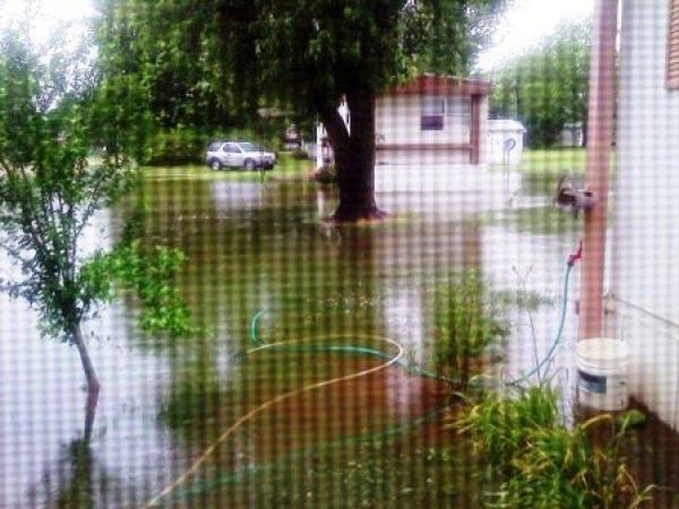 Flooding in Neelyville, MO (Source; Summer Dawn Frazier)