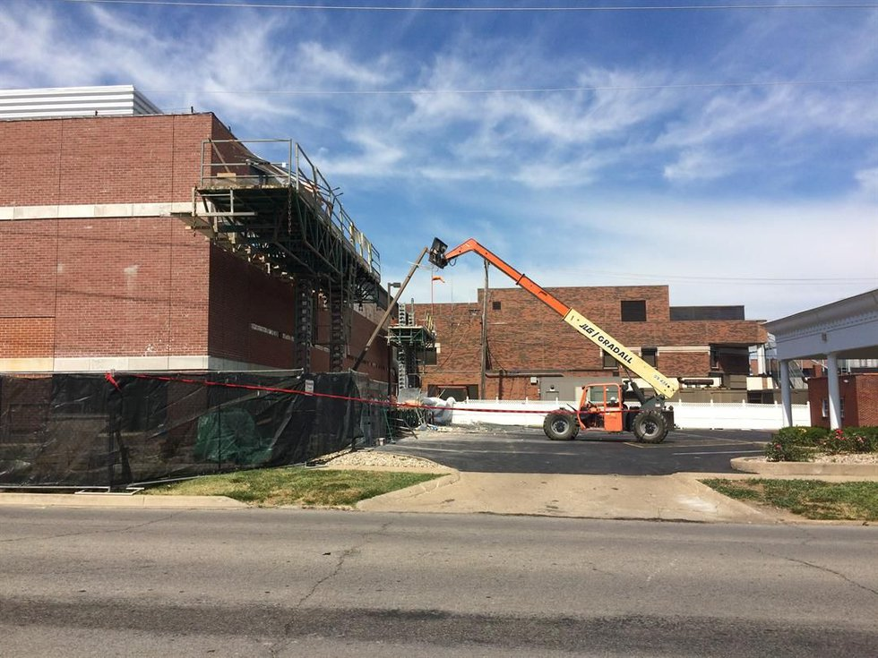 There are reports of multiple injuries after a construction accident at Herrin Hospital....