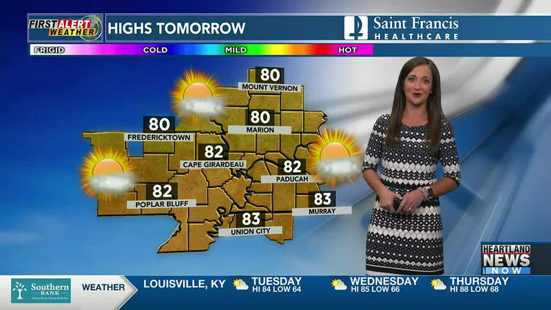 Your First Alert forecast at 4 p.m. on 8/2.