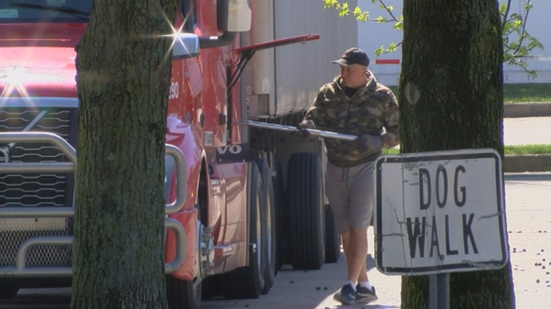 Truck drivers getting groceries to store shelves may be having a tough time finding a meal for...