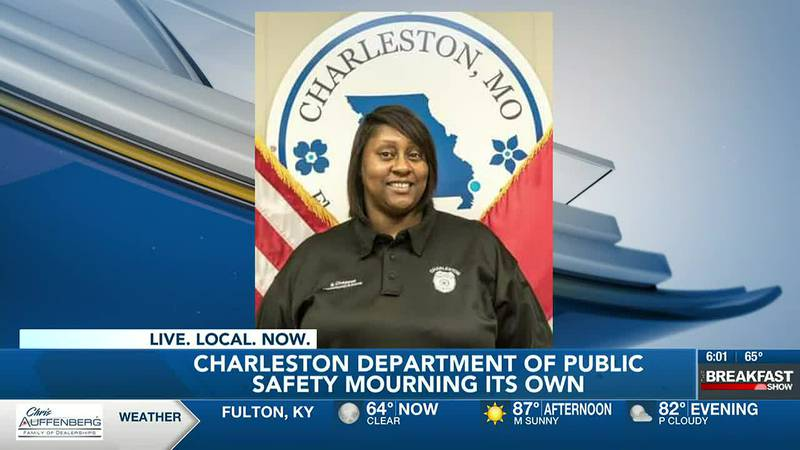 Charleston DPS mourns loss of communications officer