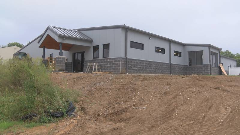 The Humane Society of Southeast Missouri's new building is expected to be finished by the end...