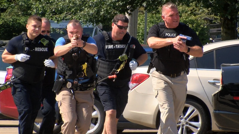 First responders partnered with Cape Girardeau public schools for active shooter training