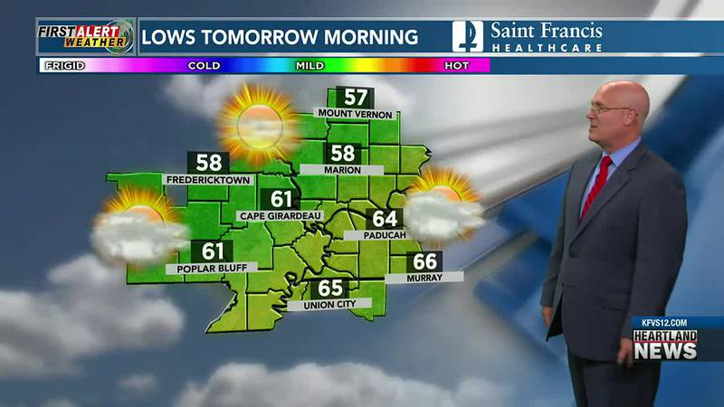Watch First Alert Weather at 10 p.m. 9/15.