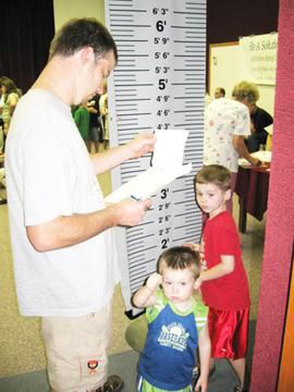 Dale Butler and his sons in 2006 (courtesy Amy Lacey)