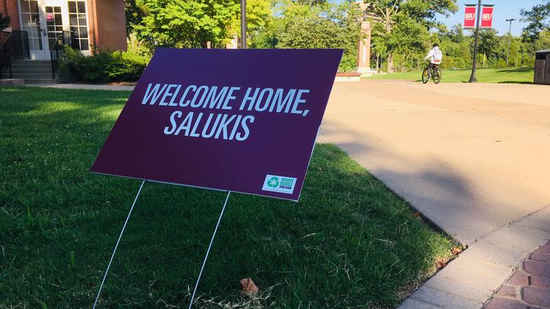 SIUC students first day back to school on Monday