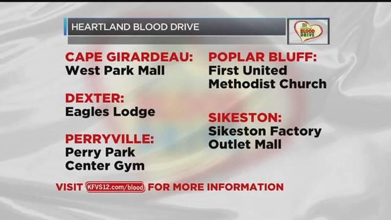 Heartland Blood Drive