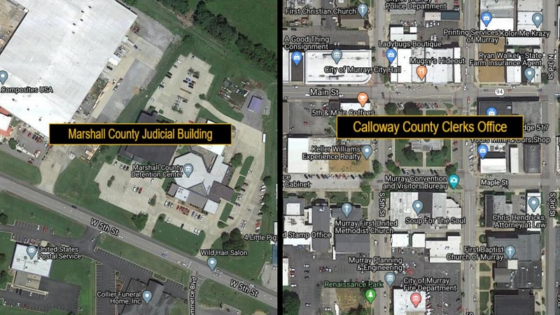 Services provided in these buildings are suspended. (Source: Google Maps)
