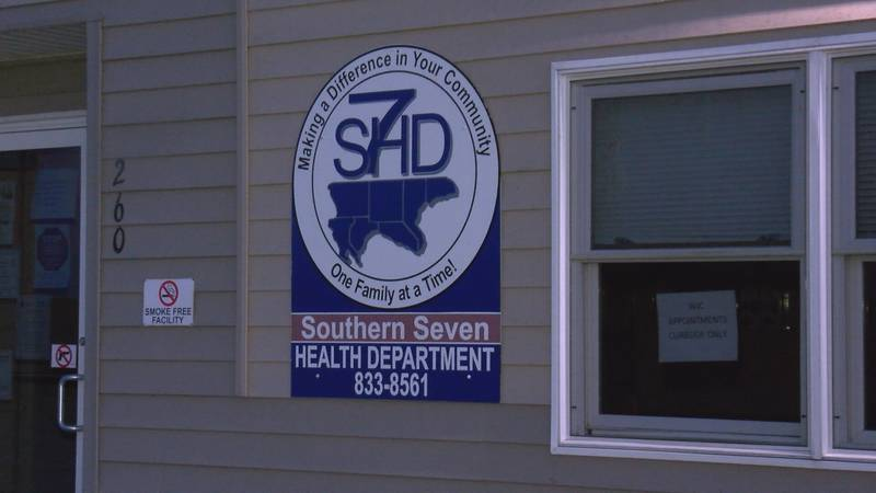 The Southern Seven Health Department reports three more counties in its region were added to...