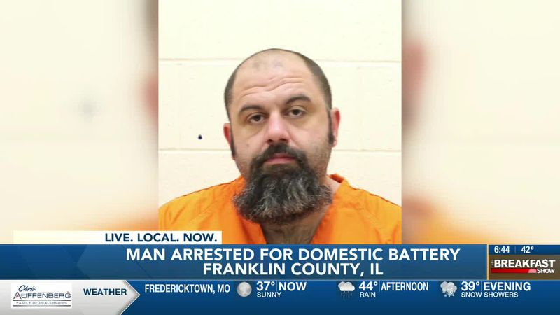 Wanted Franklin Co. man arrested