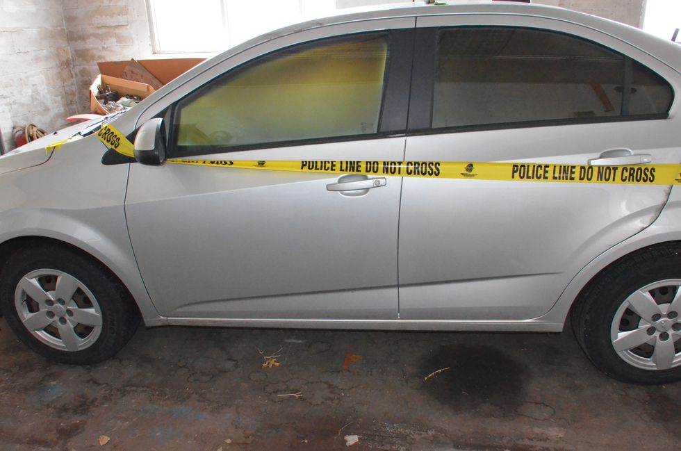 Vehicle used by suspect in 1-22-2018 shooting of Dr. Sam Hunter in Sikeston