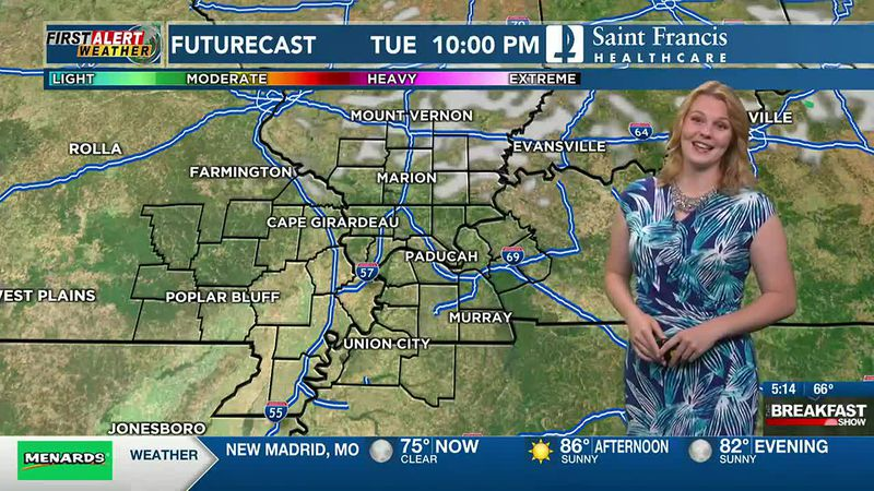First Alert Weather at 5 a.m.   6/15