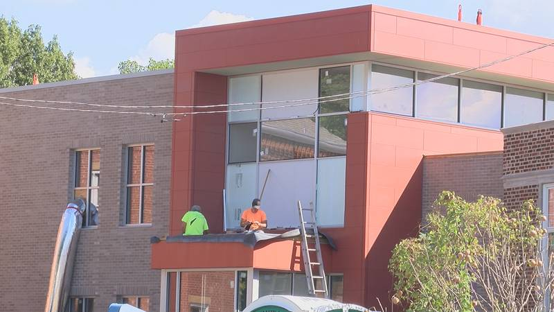 The expected completion date for the new building is December 1st.