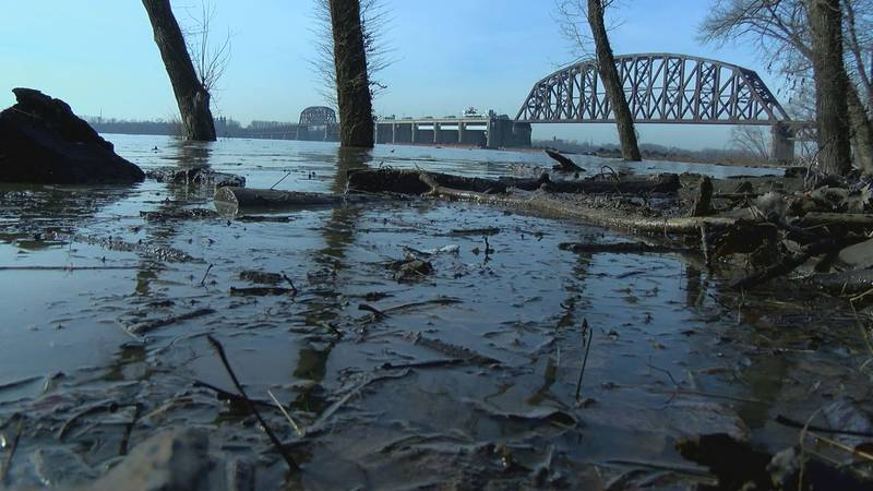 Nine of the 15 coal barges are still in the water. Four sunk, spilling tons of coal into the...