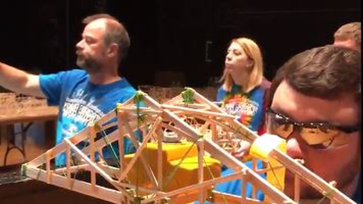 The Missouri Department of Transportation's 15th Annual Bridge Building Competition was held on...