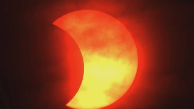The Ring of Fire Solar Eclipse was visible for some in the United States on Thursday morning,...
