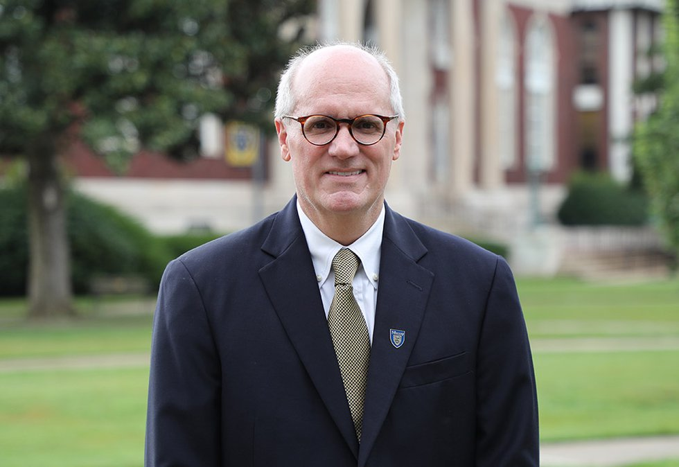 Dr. Bob Jackson, the 14th president of Murray State University.  He is also a 1985 alumnus. ...